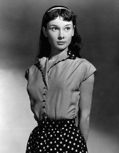 "Audrey Hepburn ""Gigi"" Globe Photos Fine Art Print"