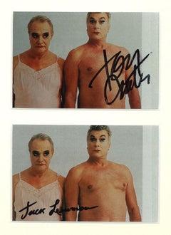 Autographed Portrait of Jack Lemmon and Tony Curtis  - 1970s
