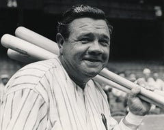 Babe Ruth Smiling on the Field Fine Art Print