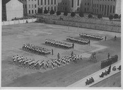 Balilla Boys Training during Fascism in Italy - Vintage b/w Photo - 1934 c.a.