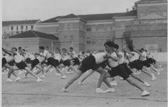 Balilla Boys Training during Fascism - Vintage b/w Photo - 1934 c.a.