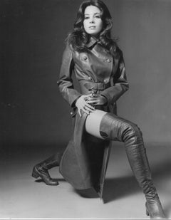 Barbara Parkins in Leather Boots Vintage Original Photograph