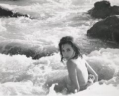 Barbara Parkins: Valley of the Dolls Star in the Ocean Fine Art Print