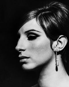 Barbra Streisand Elegant Closeup II Movie Star News Fine Art Print