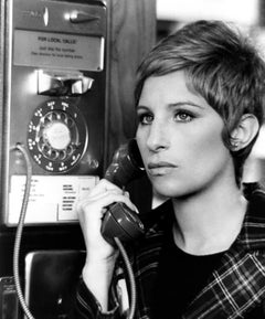 "Barbra Streisand ""For Pete's Sake"" Globe Photos Fine Art Print"