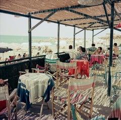 Beach Bar circa 1960 Oversize Colour Pigment print