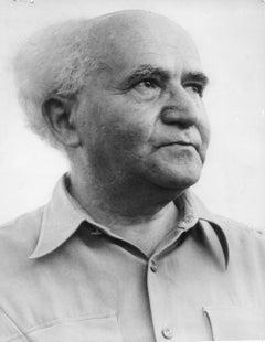 Ben Gurion: Prime Minister of Israel Vintage Original Photograph