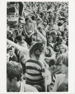 Bethel New York Woodstock Festival 1969 Crowd Shot