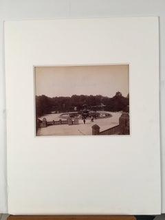 """Bethesda Fountain"" ,Central Park, New York City Photograph"