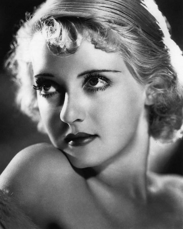 Unknown Black and White Photograph - 'Bette Davis Eyes' Limited Edition silver gelatin print