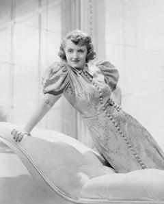 Bette Davis: The Screen Queen of Hollywood's Golden Age Fine Art Print