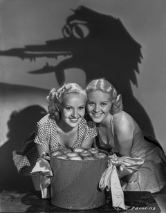 Betty Grable Shadow Puppets Fine Art Print