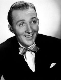 Bing Crosby Smiling in Bowtie Globe Photos Fine Art Print