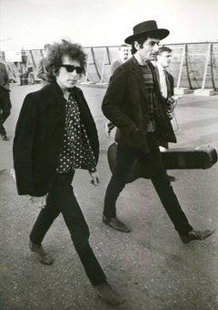 Bob Dylan in Stockholm Fine Art Print