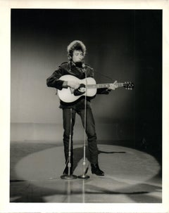 Bob Dylan in the Spotlight Vintage Original Photograph