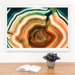 Bright Geodes no. 10, giclee print, framed