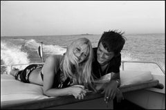 Brigitte Bardot and Alain Delon - SUMMER BREEZE - (Silver Gelatin Print)