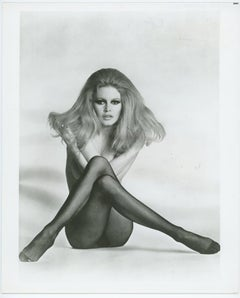 Brigitte Bardot Black and White Press Print