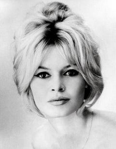 Brigitte Bardot Elegant Headshot Globe Photos Fine Art Print