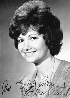Britt Marie Aruhn Autographed Photograph - 1970