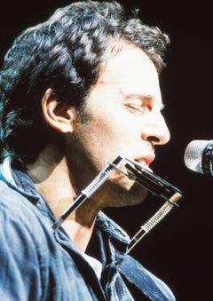 Bruce Springsteen Closeup on Stage Fine Art Print