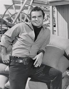 Burt Reynolds in Western Fine Art Print