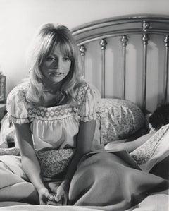 Candid Goldie Hawn in Bed Fine Art Print