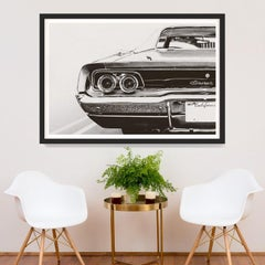 Car Photography no. 1, giclee print, framed