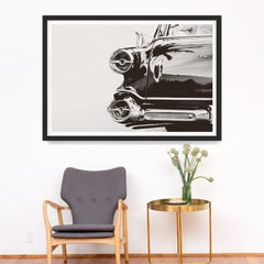 Car Photography no. 11, giclee print, framed