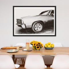 Car Photography no. 3, giclee print, framed