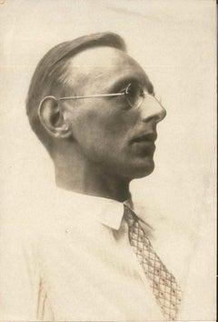 Carl Orff - Original Vintage Photograph - 1940s
