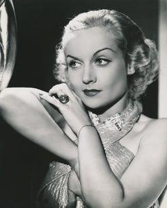 Carole Lombard Classic Beauty Fine Art Print