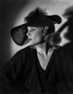Carole Lombard Dramatic Portrait in Hat Movie Star News Fine Art Print