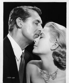 Cary Grant And Grace Kelly In To Catch A theift(1932) Silver Gelatin Fibre Print