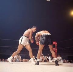 Cassius Clay vs. Floyd Patterson Fine Art Print