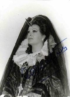Celestina Casapietra Autographed Photograph - 1960