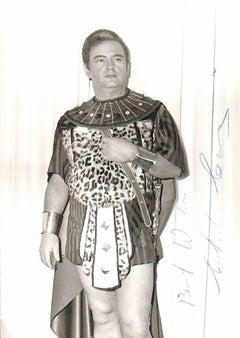 Charles James Craig Autographed Photograph - 1950