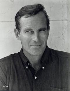 Charlton Heston Outdoors Vintage Original Photograph