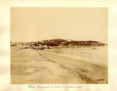 Chefoo, View of Settlement - Ancient Albumen Print 1880/1900