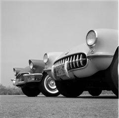 Chevrolet Corvette (1957) - Silver Gelatin Fibre Print