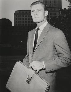 Chuck Connors as a Lawyer Fine Art Print