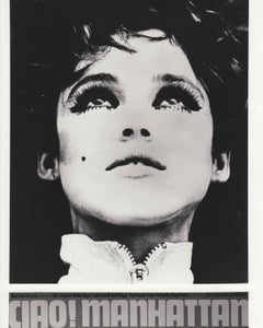 CIAO! MANHATTAN / EDIE SEDGWICK -POP ART - FACTORY- ANDY WARHOL - CHELSEA GIRLS