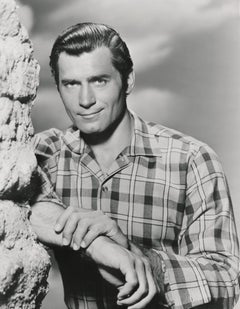 Clint Walker in Western II Fine Art Print