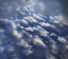 """Cloudy sky"" Photography on Canvas"