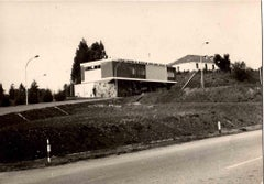 CNEN Nuclear Research Center of the Trisaia - Vintage B/W photo - 1970s