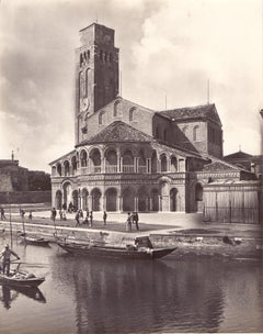 Collection of 4 Vintage Photos from Murano by Studio Bohm - 1930s