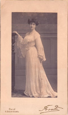 Collection of two vintage photos by Studio Bonte - Photo 1903 ca.