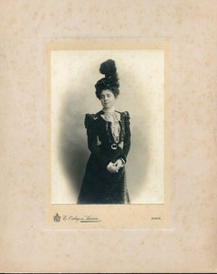 Collection of two vintage photos by Studio Orlay de Karwa - Photo 1900 ca.