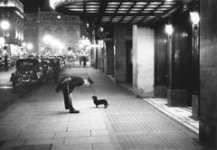 Commissionaire's Dog - Getty Archive, 20th Century Photography, Savoy London