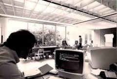 Computer Center in Segrate - Original Photos - Early 1980s